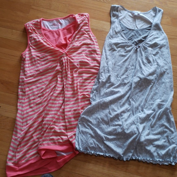 Intimates & Sleepwear | 2 Nursing Night Gowns | Poshmark
